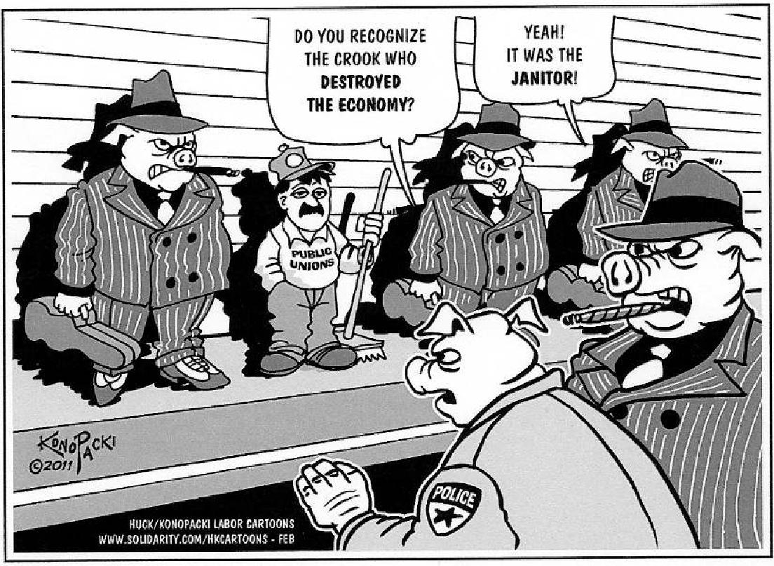 why labor unions were successful In order to fight back, laborers would join labor unions in order to protest all these horrible conditions primarily, one of the important factors of the american opinion upon labor unions was the press.