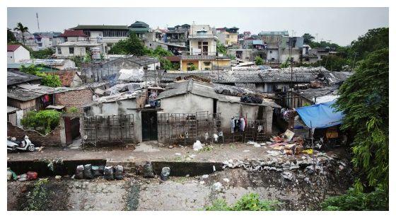 An urban slum in Hanoi, Viet Nam. (Photo: Flickr / United Nations / Creative Commons)