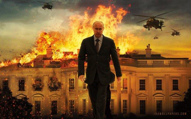 Putin destroys White House
