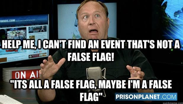 alex jones false flag