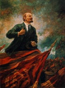 aleksandr-gerasimov-lenin-on-the-rostrum