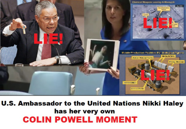 Colin Powell Moment