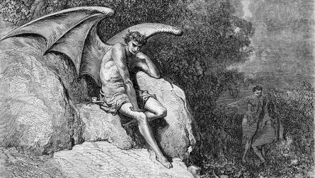 Demon Milton's Paradise 1885