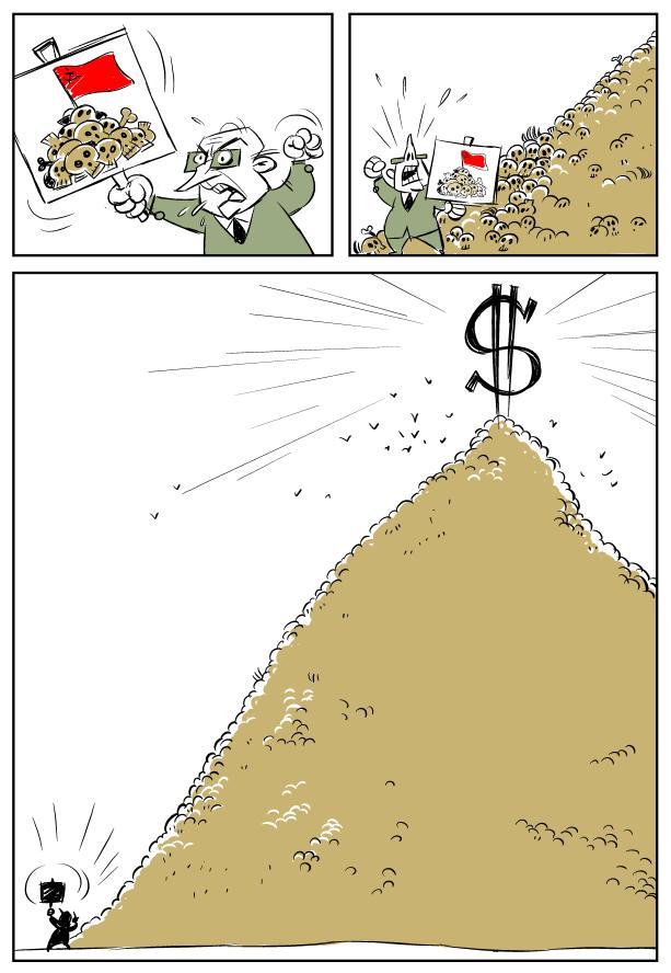 capitalist versus communist violence