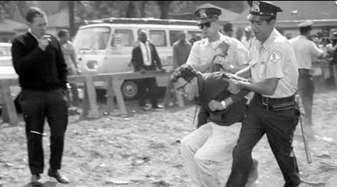 bernie arrested